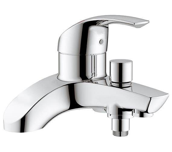 Grohe Eurosmart Deck Mounted Bath Shower Mixer Tap - 25105000