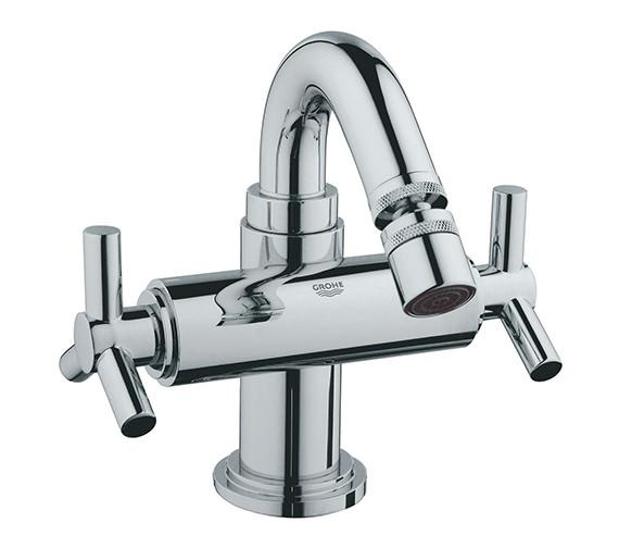 Grohe Spa Atrio Ypsilon Bidet Mixer Tap With Pop-up Waste - 24027000