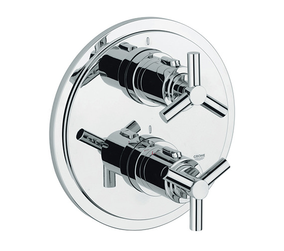 Grohe Spa Atrio Ypsilon Thermostatic Bath Shower Mixer Trim - 19395000