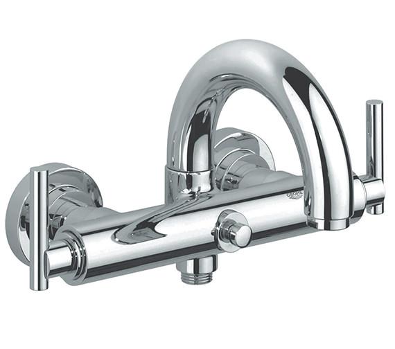 Grohe Spa Atrio Jota Wall Mounted Bath Shower Mixer Tap - 25011000
