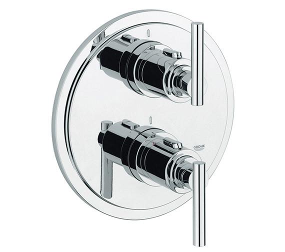 Grohe Spa Atrio Jota Thermostatic Shower Mixer Trim Set - 19398000