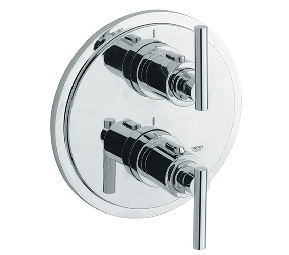 Grohe Spa Atrio Jota Thermostatic Bath Shower Mixer Trim - 19399000