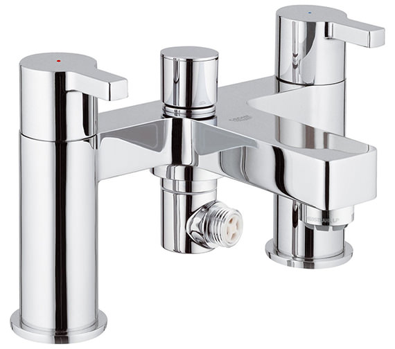 Grohe Lineare Half Inch Deck Mounted Bath Shower Mixer Tap - 25113000