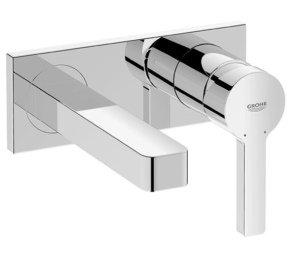 Grohe Lineare Wall Mounted Two Hole Basin Mixer Tap - 19409000