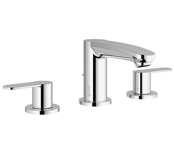 Grohe Eurostyle Cosmo Three Hole Basin Mixer Tap - 20208002