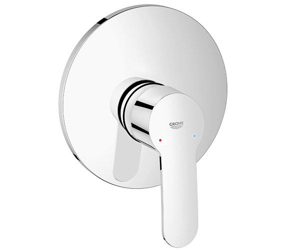 Grohe Eurostyle Cosmo Single Lever Shower Mixer Trim - With Or Without Diverter