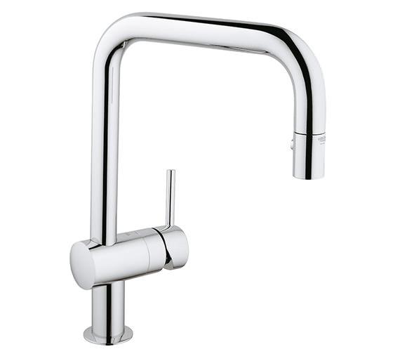 Grohe Minta Swivel Tubular Spout Sink Mixer Tap - 32322000