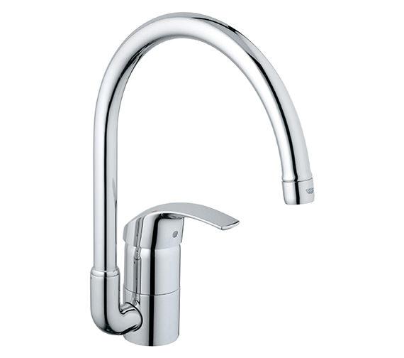 Grohe Eurosmart High Spout Half Inch Sink Mixer Tap - 33202001