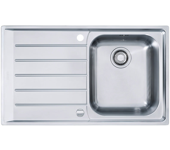 Neptune Sink : ... Neptune NEX 211 Stainless Steel 1.0 Bowl Kitchen Inset Sink Image
