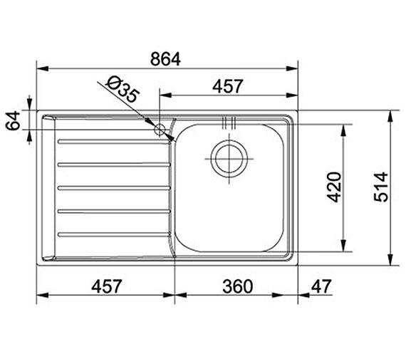 Technical drawing QS-V58420 / 1270059655
