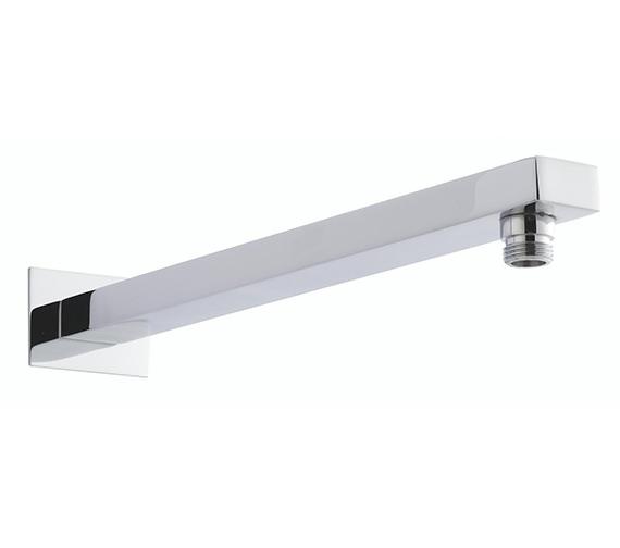 Hudson Reed Small Rectangular Shower Arm Chrome - ARM13