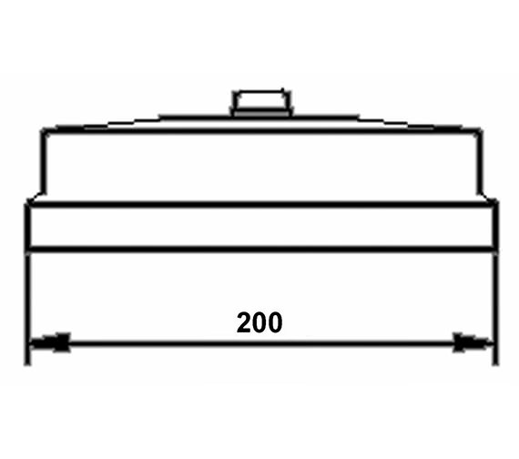 Technical drawing QS-V58501 / HEAD01