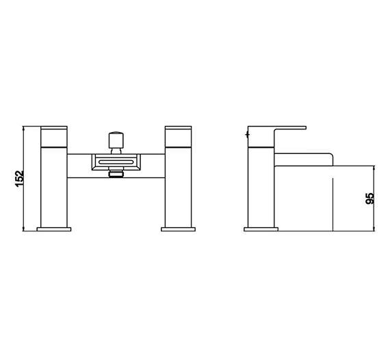 Technical drawing QS-V58539 / STR314