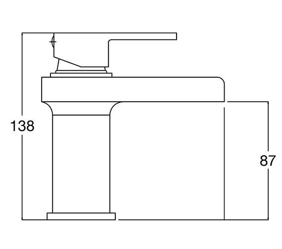 Technical drawing QS-V58540 / STR315