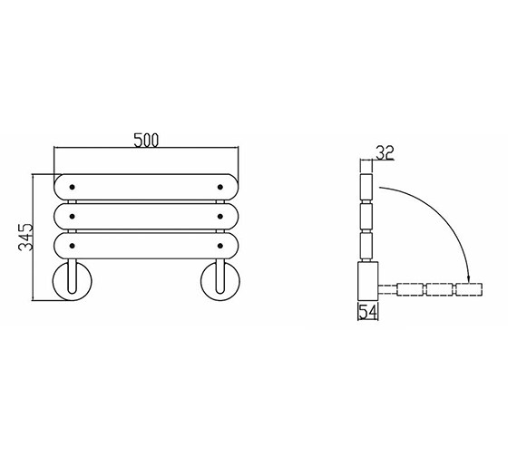 Technical drawing QS-V58546 / LA371