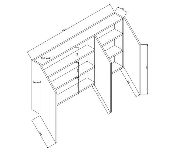 Technical drawing QS-V58560 / LQ006