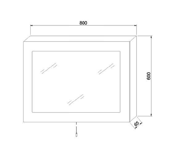 Technical drawing QS-V58561 / LQ362