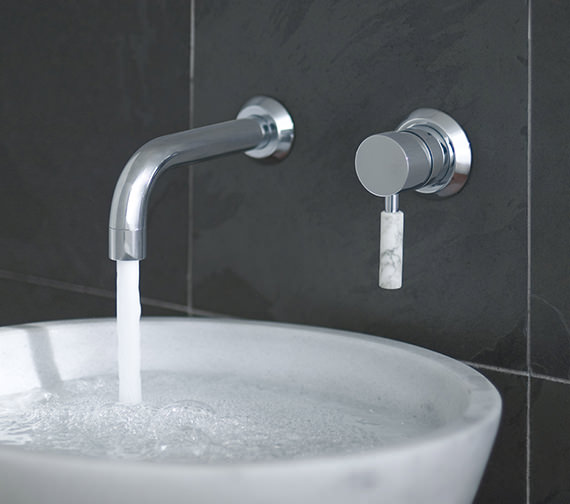 Vado Origins Wall Mounted 2 Hole Basin Mixer Tap - ORI-109S