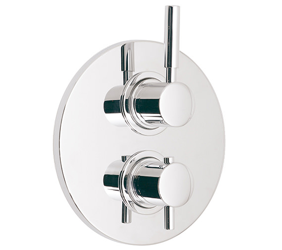 Vado Origins Concealed 2 Handle Thermostatic Shower Valve