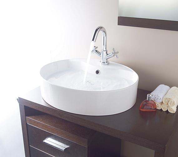 Vado Elements Water Mono Basin Mixer Tap - ELW-100-SB