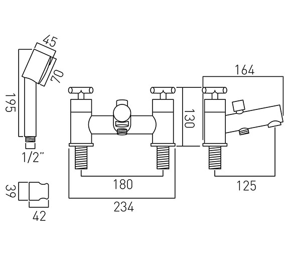 Technical drawing QS-V58666 / ELW-130+K-C/P
