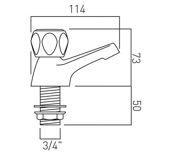 Technical drawing QS-V58709 / AST-136/CD-C/P