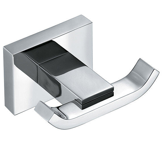 Vado Level Double Robe Hook - LEV-186