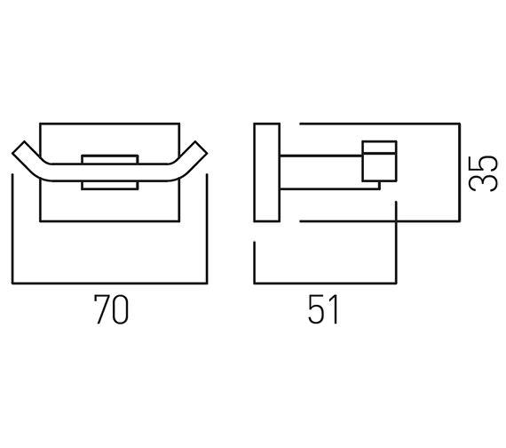 Technical drawing QS-V58847 / LEV-186-C/P