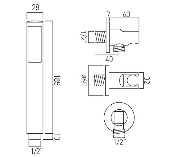 Technical drawing QS-V58914 / ZOO-SFMKWO-C/P