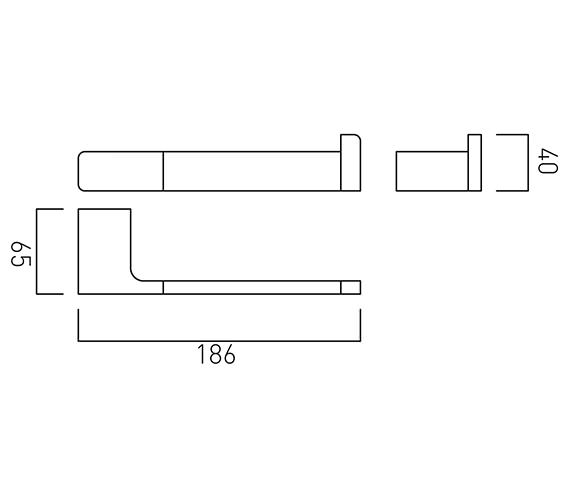 Technical drawing QS-V58996 / SHA-180-C/P