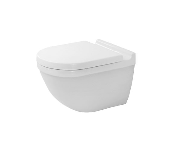 Duravit Starck 3 Wall Mounted Toilet With Durafix - 2225090000