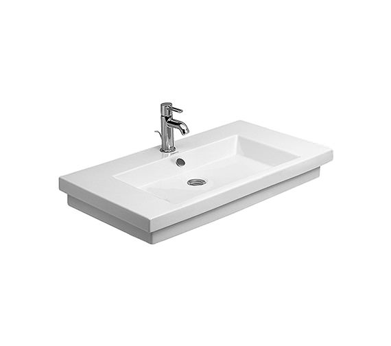 Duravit 2nd Floor 600 x 430mm Furniture Washbasin - 0491600000