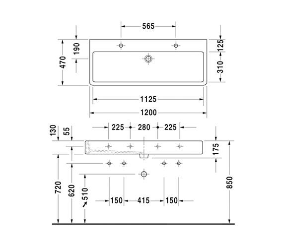 Technical drawing QS-V59092 / 0454120024