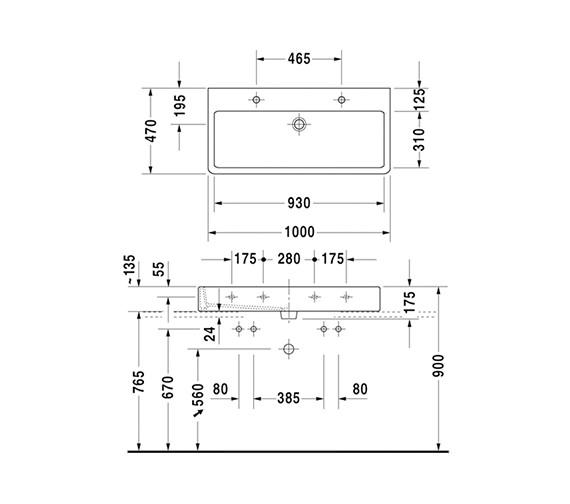 Technical drawing QS-V59095 / 0454100026