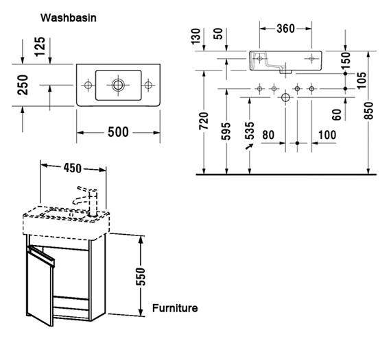 Technical drawing QS-V59114 / KT6629L1818