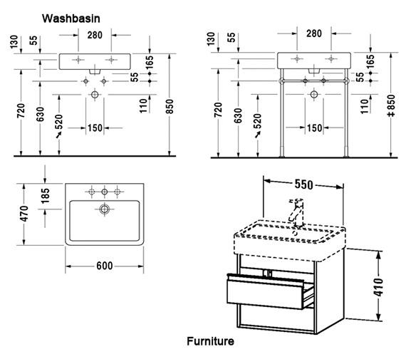 Technical drawing QS-V59122 / KT663601818