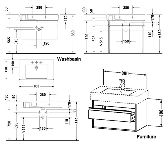 Technical drawing QS-V59129 / KT664001818