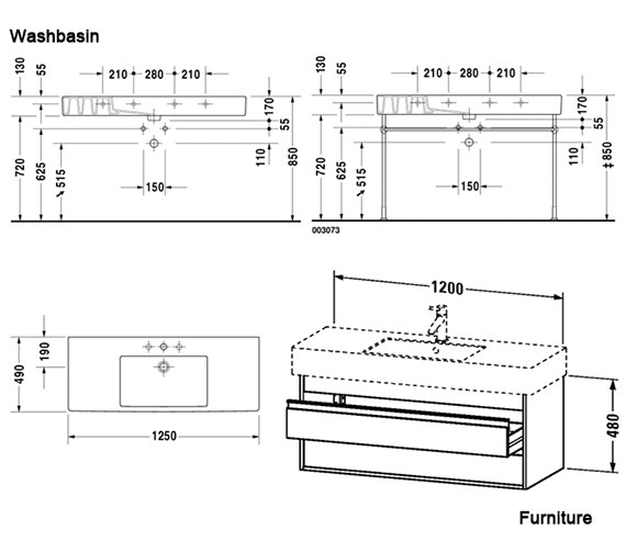 Technical drawing QS-V59131 / KT664201818