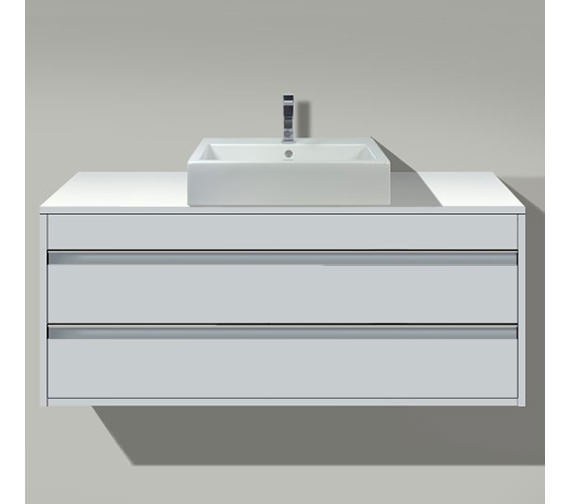 Duravit Ketho 800mm 2 Drawers Unit For Above Countertop Basin