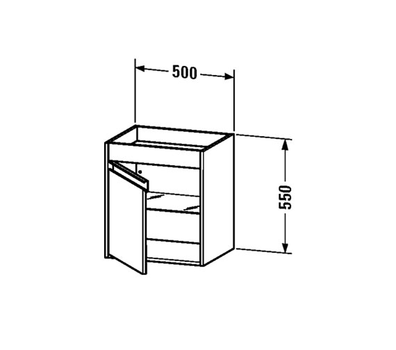 Technical drawing QS-V59264 / KT2528L1818