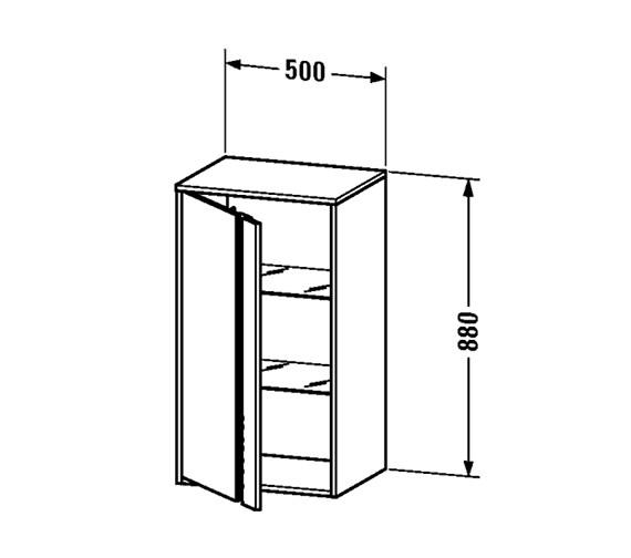 Technical drawing QS-V59266 / KT1266L1818