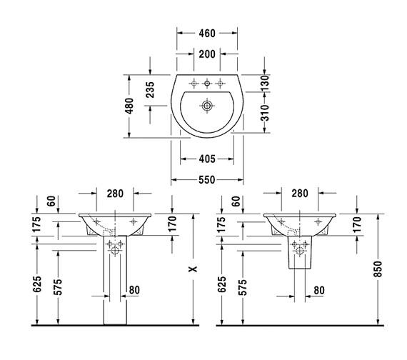 Technical drawing QS-V59271 / 2621550000