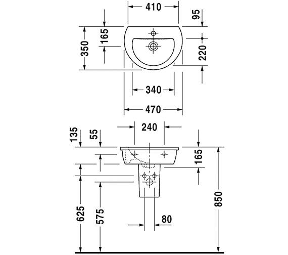 Technical drawing QS-V59272 / 0731470000