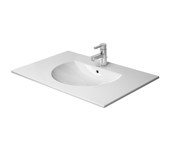 Duravit Darling New 830 x 545mm 1 Taphole Furniture Washbasin