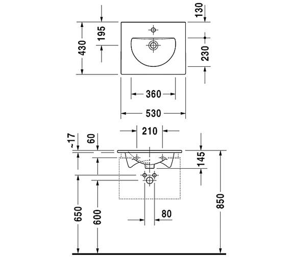 Technical drawing QS-V59277 / 0499530000