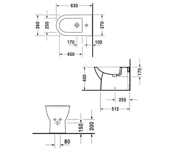 Technical drawing QS-V59279 / 2251100000