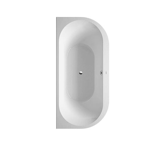 Duravit Darling New Back-To-Wall Bathtub 1900x900mm White - 700248 Image