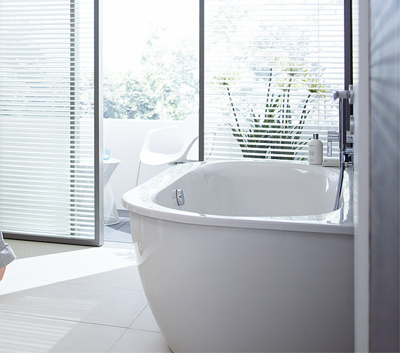 Image 5 of Duravit Darling New Back-To-Wall Bathtub 1900x900mm White - 700248