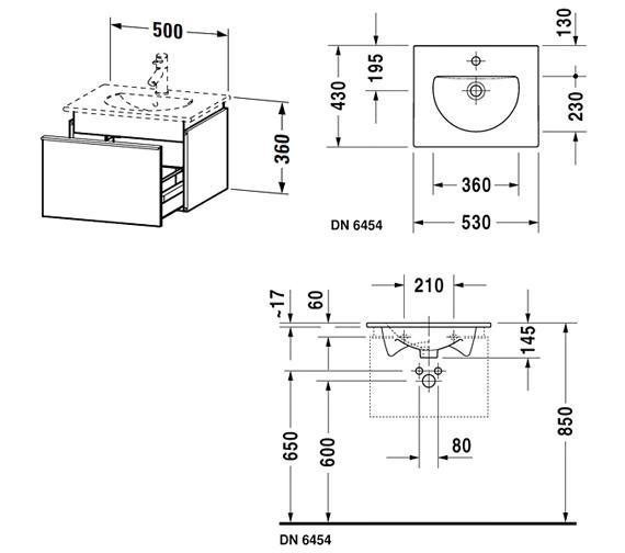 Technical drawing QS-V63302 / DN645401814