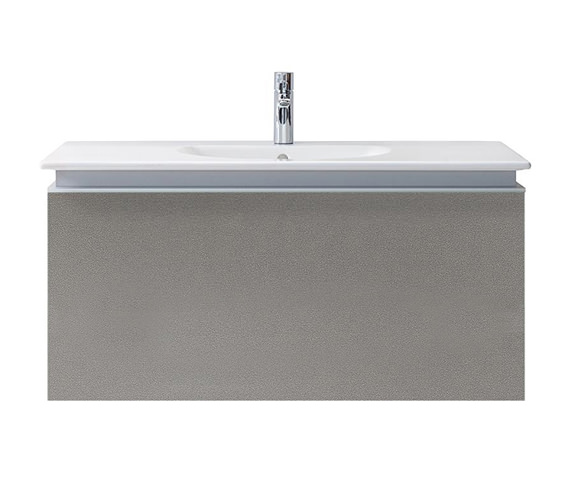 Duravit Darling New 800mm White Matt Vanity Unit With 830mm Basin